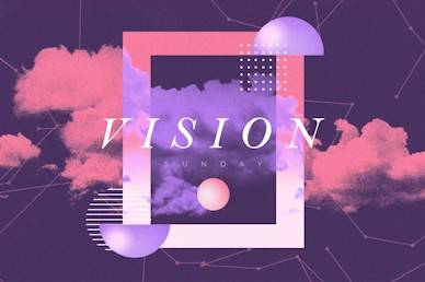 Vision Sunday Purple Title Church Video