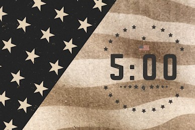 Memorial Day Countdown Church Motion Graphic