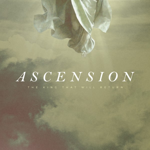 Ascension Day Clouds Social Media Graphic