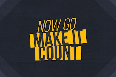 Make It Count Mini Movie