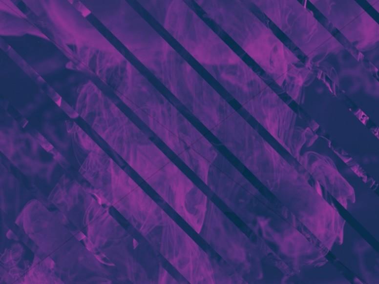 Purple Stripes Ink Drop Worship