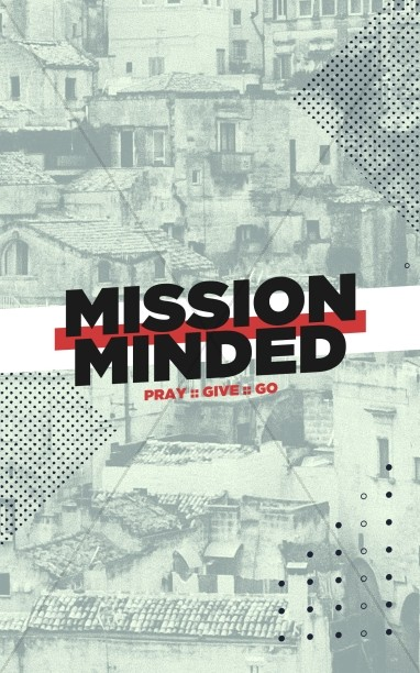 Mission Minded Church Bifold Bulletin Free Trial