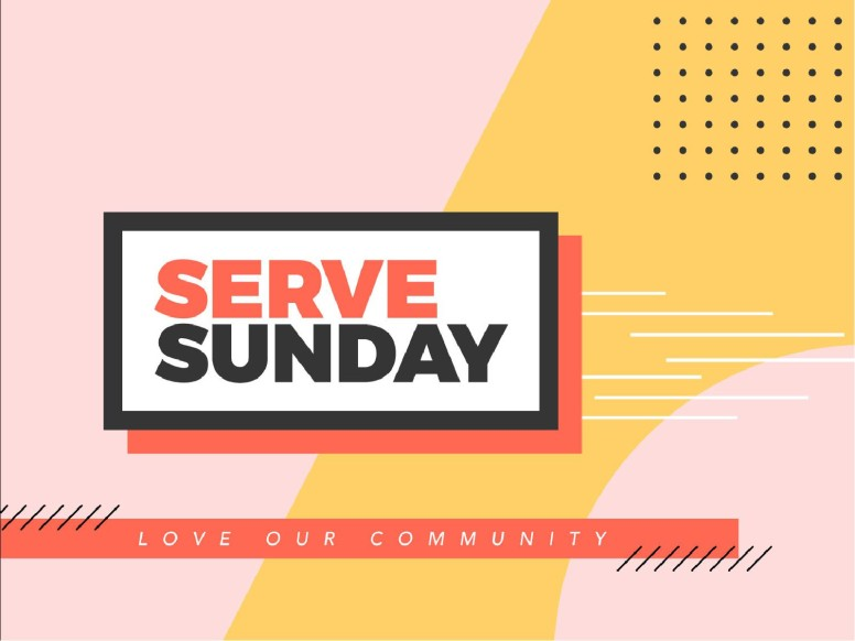 Serve Sunday Church PowerPoint