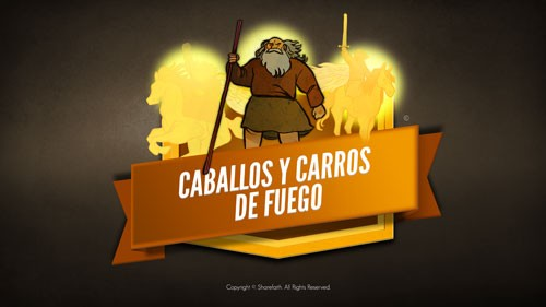 Video de la Biblia 2 Kings 6 Horses and Chariots of Fire para niños