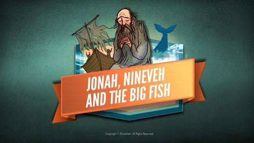 Video de la Biblia de Jonás y la ballena para niños