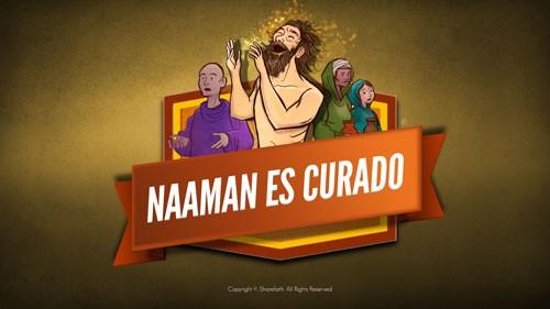 Naamán el leproso 2 Reyes 5 Video de la Biblia para niños