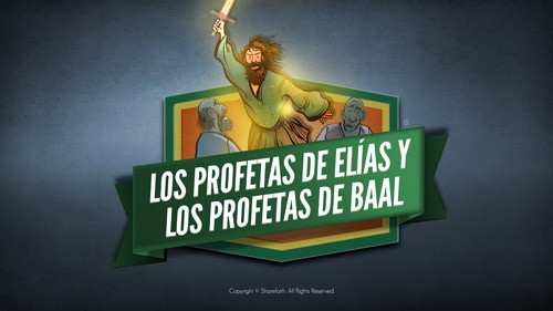 Video de la Biblia Profeta 1 Reyes 18 para niños