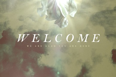 Ascension Day Clouds Welcome Church Motion Graphic