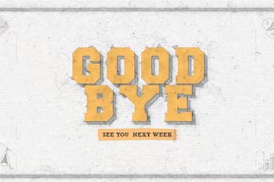 Life Hacks Goodbye Church Motion Graphic