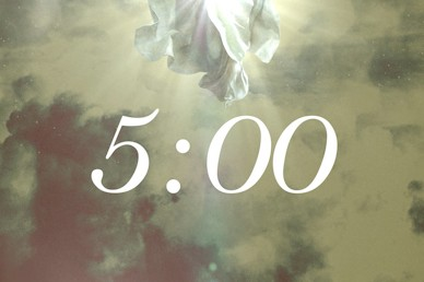 Ascension Day Clouds Countdown Church Motion Graphic