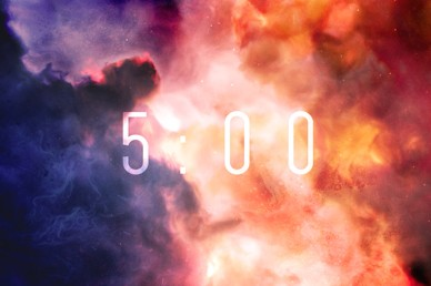 Pentecost Red Clouds Countdown Church Video