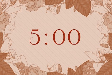 She Is Strong Countdown Church Motion Graphic