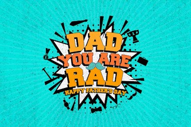 Rad Dad Father's Day Title Church Video