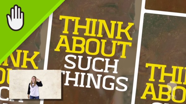 Think About It Kids Worship Video for Kids Hand Motions