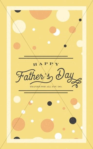 Dad Jokes Father's Day Church Bifold Bulletin