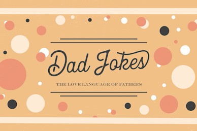 Dad Jokes Father's Day Title Church Video