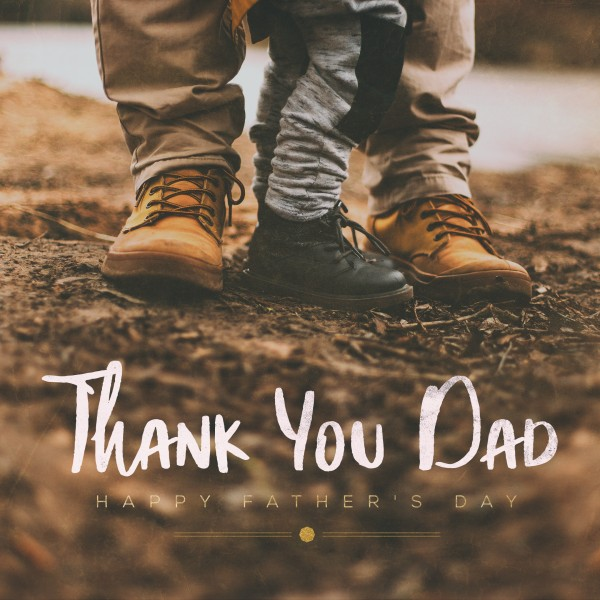 Thank You Dad Shoes Social Media Graphic