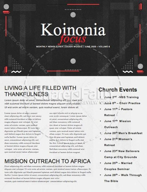 Selfless Church Newsletter