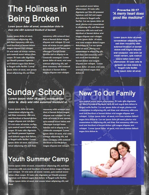 Grad Sunday Church Newsletter