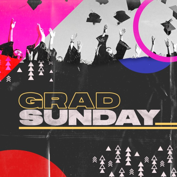 Grad Sunday Social Media Graphic