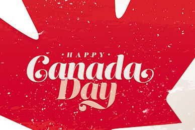 Canada Day Maple Leaf Title Church Video