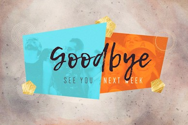 Friendology Goodbye Church Motion Graphic