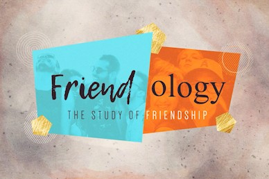 Friendology Title Church Motion Graphic
