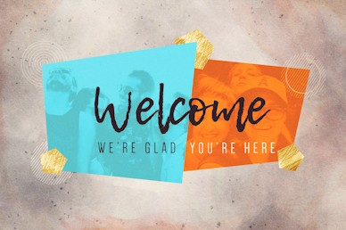 Friendology Welcome Church Motion Graphic