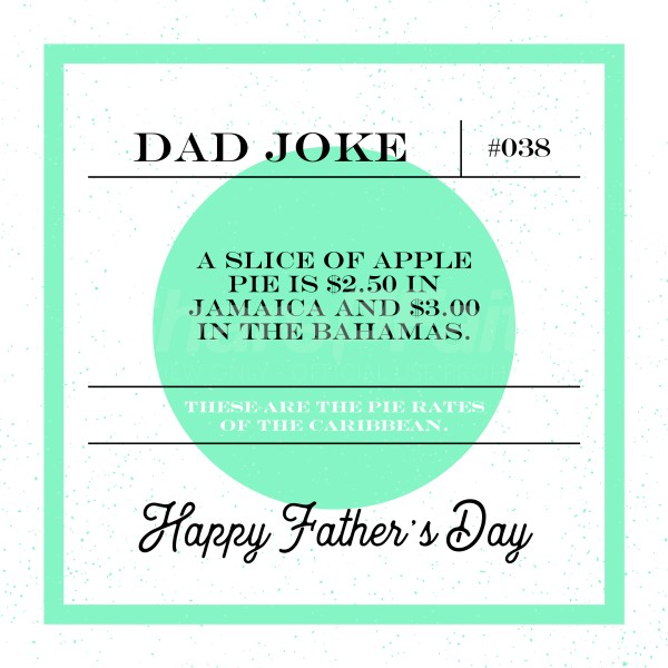 Dad Joke Pie Social Media Graphic