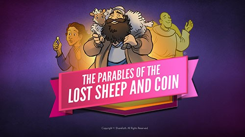Luke 15 The Parables of the Lost Sheep and Coin Bible Video for Kids