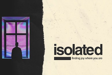 Isolated Title Church Motion Graphic