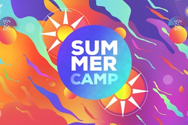 Summer Camp Sun Title Church Video