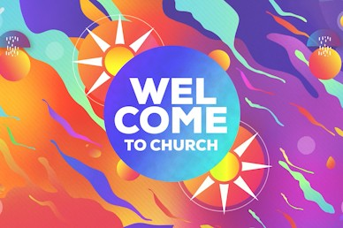 Summer Camp Sun Welcome Church Video
