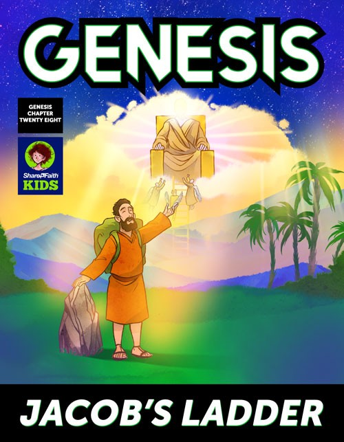 Genesis 28 Jacobs Ladder Digital Comic