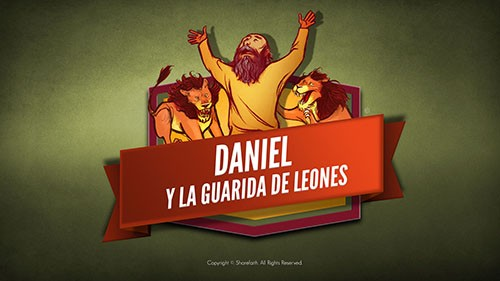 Video bíblico de Daniel y The Lions Den para niños