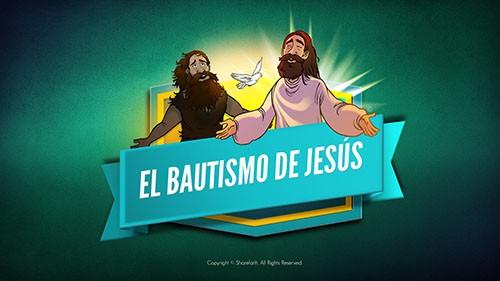 Mateo 3 El bautismo de Jesús Video bíblico para niños