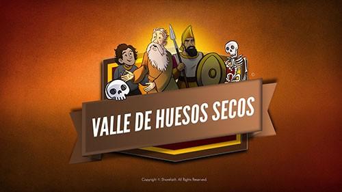 Ezekiel 37 Video de la Biblia del Valle de los huesos secos para niños