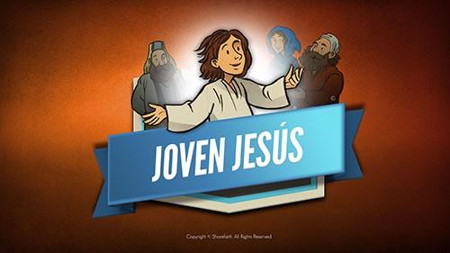 Jesús como un niño Biblia Video para niños