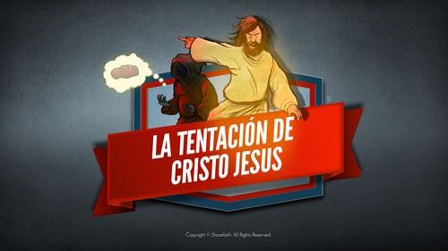 Mateo 4 Jesús tentó el video bíblico para niños