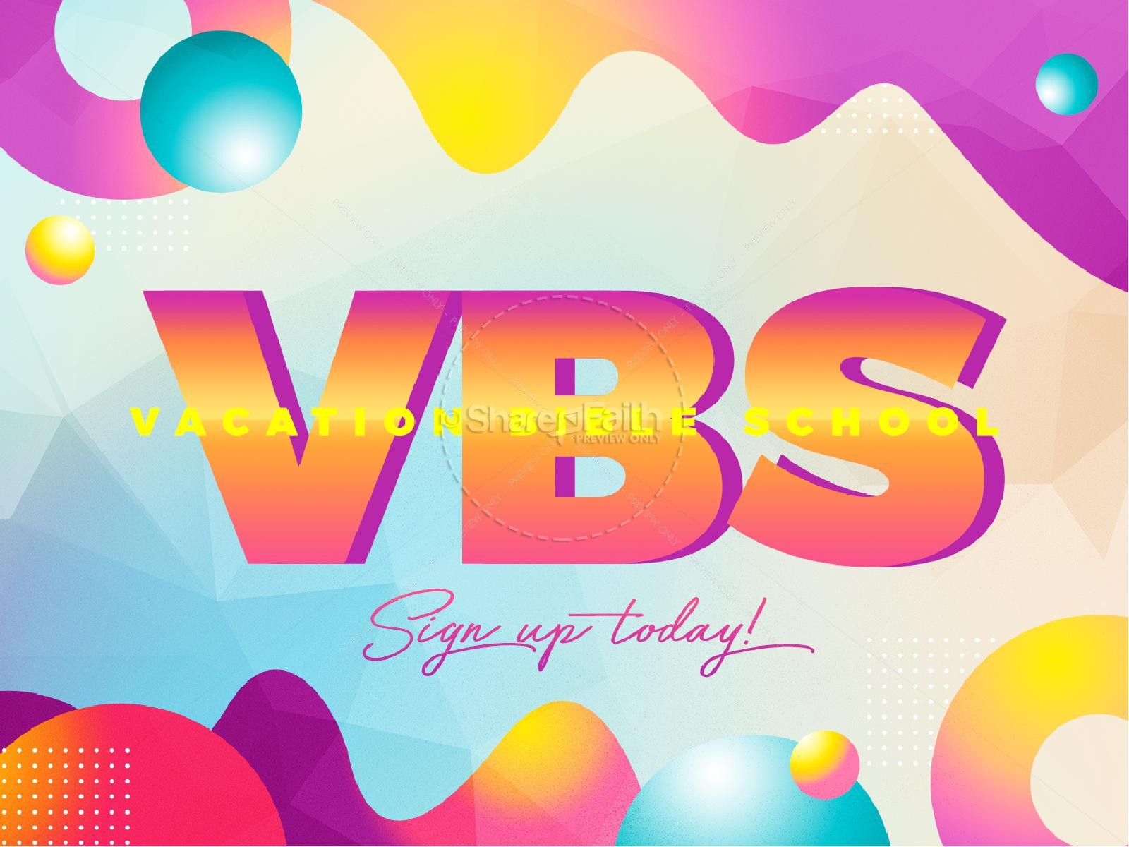 VBS Bubble Church PowerPoint