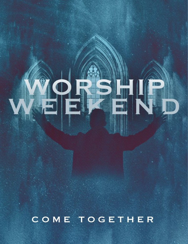 Worship Weekend Church Flyer