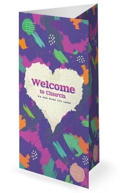 Love Like Jesus Church Trifold Bulletin