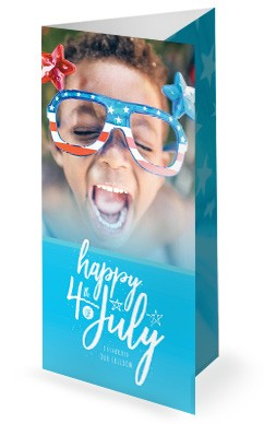 Celebrate Freedom 4th of July Trifold Bulletin