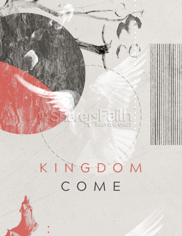 Kingdom Come Church Flyer
