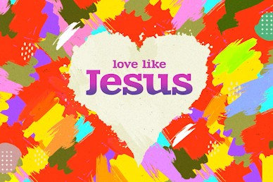 Love Like Jesus Title Church Video