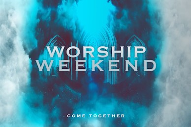 Worship Weekend Title Church Video