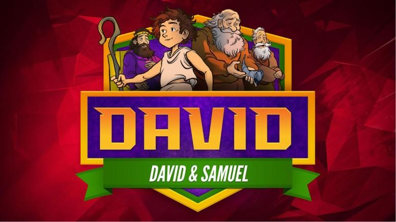 1 Samuel 16 David and Samuel Kids Bible Story