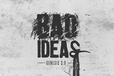 Bad Ideas Title Church Motion Graphic