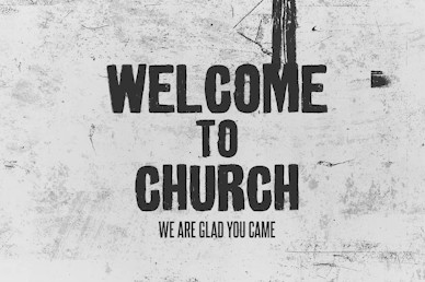 Bad Ideas Welcome Church Motion Graphic