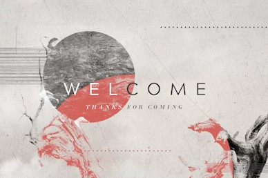 Kingdom Come Welcome Church Motion Graphic